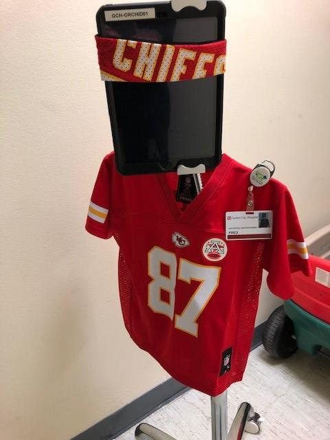 FRED in a Chiefs Jersey